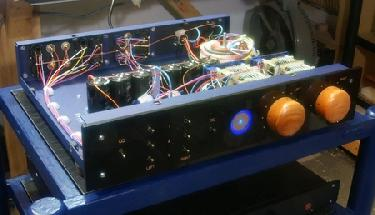 BC109 PreAmp inside view